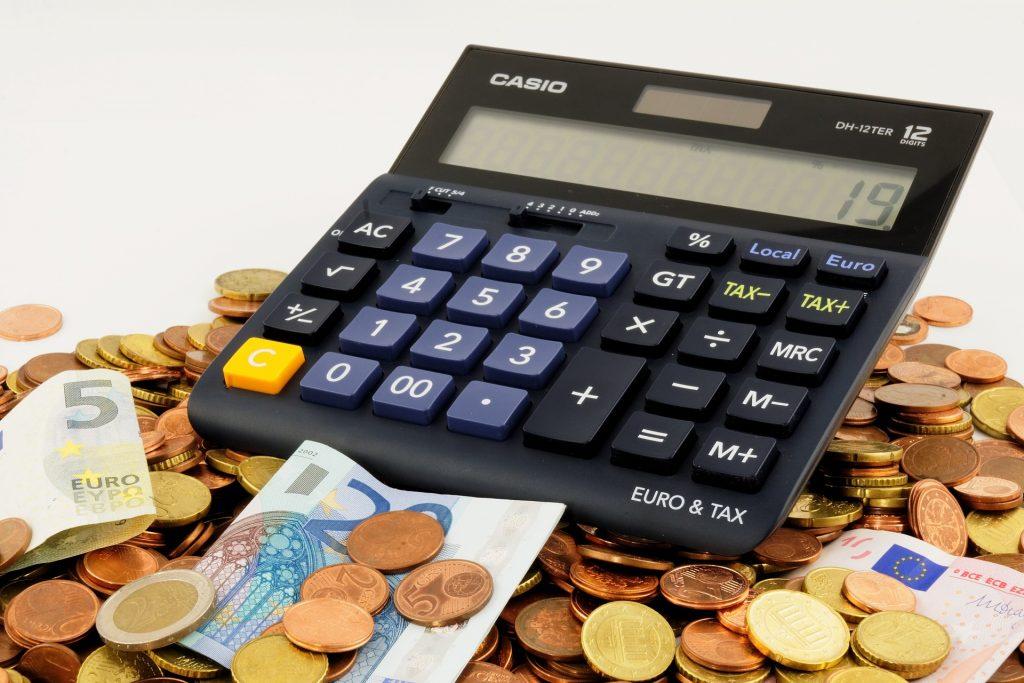 calculatrice argent