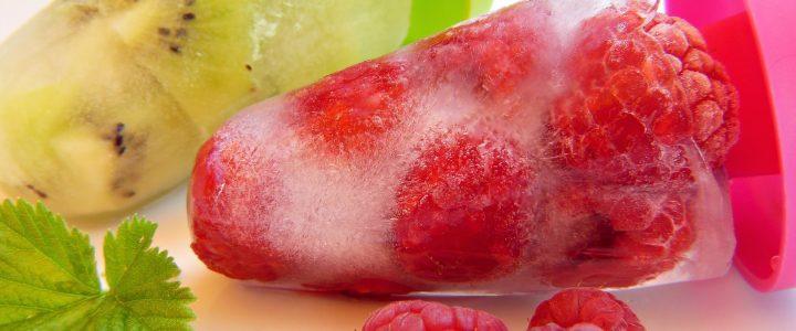 glace fruit frais